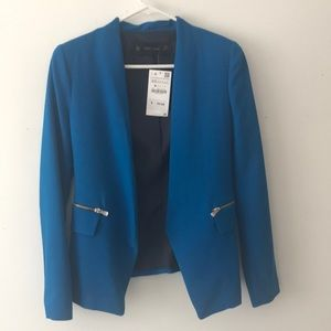 Zara royal blue comfy blazer size XS S